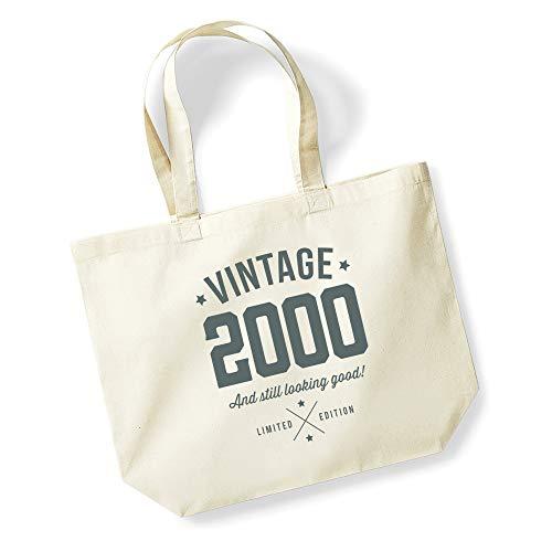 21st Birthday, Keepsake, Gift, Looking Good, Ladies, Shopping Bag, Present, Tote Bag, Gift Idea (Natural)