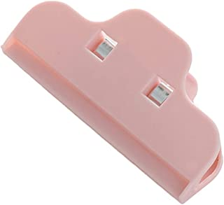 Romica0 1pcs Chip Clips Food Chip Bag Clips, Sealing Well Tight Clamps Keeps Food Fresh, for Kitchen Office Photos Pink
