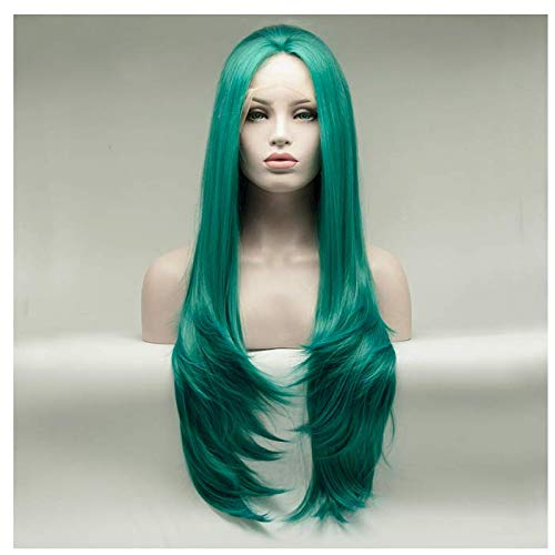 """Perruque 24""""Blonde Dark Roots Maquillage Quotidien Synthétique Synthétique Lace Front Perruques Résistant À La Chaleur"""