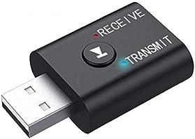 ALLY 2in1 Bluetooth 5.0 Mini USB Adaptör+Fm Transmitter SİYAH
