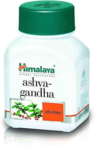 HIMALAYA HERBALS Ashwagandha | Natuurlijke aanvulling tegen stress en angst, veganistische capsules - 60 stuks (Ashwagandha-1 pak)