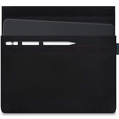 Adore June 7,9-8,3 Zoll Classic Schwarz Tasche kompatibel mit iPad Mini 6 2021 / iPad Mini 5 mit Apple Pen Halterung