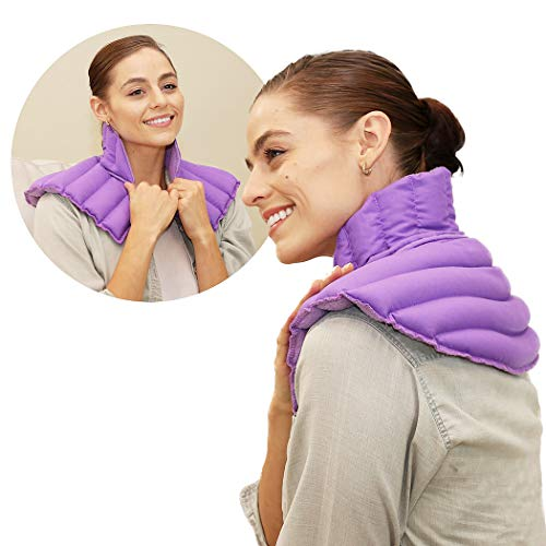 Huggaroo Neck Wrap Microwavable Heating Pad | Amazon.com