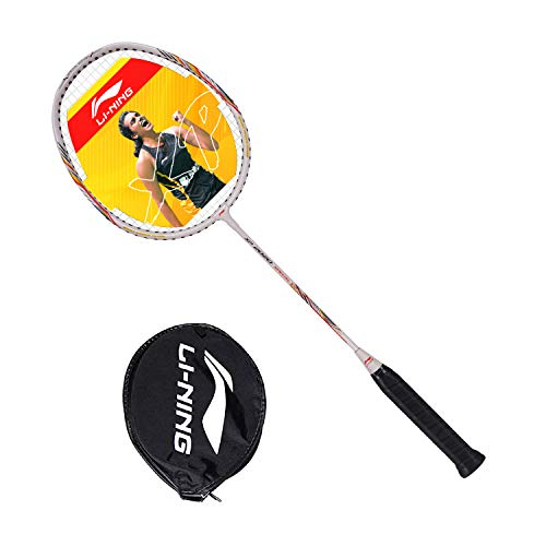 Li-Ning XP 2020 Special Edition (AYPQ154-5) Blend Strung Badminton Racquet (White) With Free Head Cover