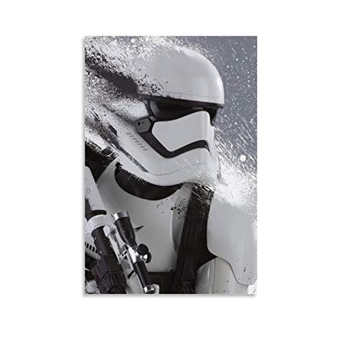 DRAGON VINES Pintura en lienzo de Star Wars The Clone Wars para oficina y hogar, 40 x 60 cm