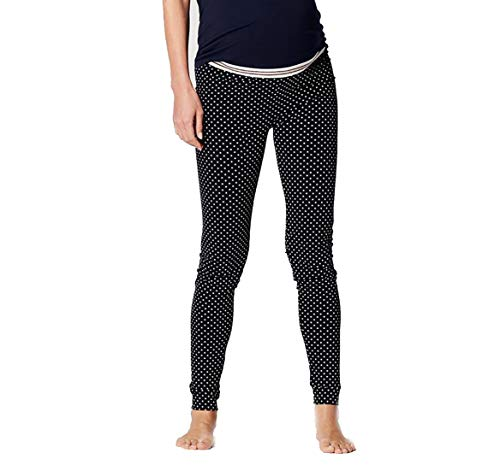 Noppies Damen Matt Fein Umstands Legging Seamless Cara, 100 DEN (42 (Herstellergröße: XL/XXL), Night Sky AOP)