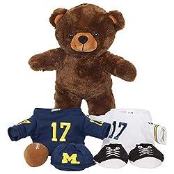 FOCO NCAA Michigan Wolverines Team Color Locker Room Buddy