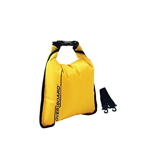 Overboard Wasserdichte Tasche, Gelb, 5 Liter, OB1002Y