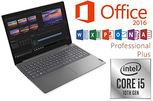 "Laptop V15-IIL - Intel Core i5-1035G1 Prozessor - 16GB-RAM - 500GB NVMe SSD - Windows 10 Pro + MS Office 2016 Pro - 39cm (15.6\"") WXGA MATT"