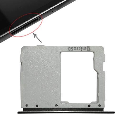 un known Micro SD Card Tray for Galaxy Tab S3 9.7 / T820 (WiFi Version) Accessory Experiment Tries Replace (Color : Black)