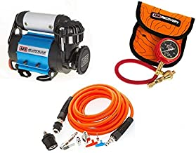 ARB 4X4 Accessories Ultimate Wheeler Pack Hd Air Compressor & Pump Up Kit & E-Z Tire Deflator