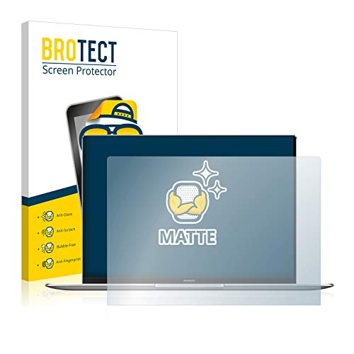 BROTECT Entspiegelungs-Schutzfolie kompatibel mit Huawei MateBook X Pro 2020 Bildschirmschutz-Folie Matt, Anti-Reflex, Anti-Fingerprint
