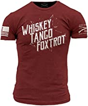 Grunt Style Whiskey Tango Foxtrot II Men's T-Shirt, Color Cardinal Red, Size XXX-Large