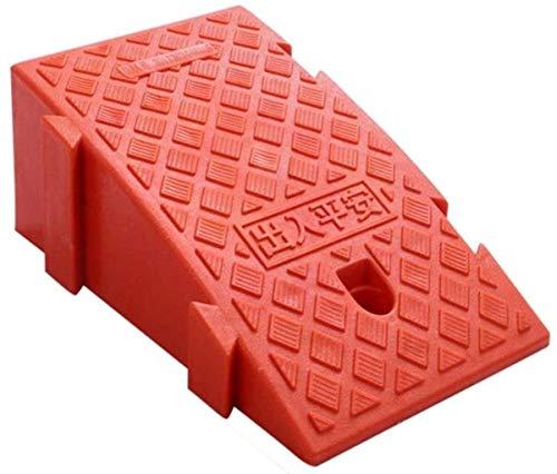 LIUYULONG Rampa de acera Ramps triángulo para Silla de Ruedas, patineta para niños enrolla en Carretera Patio Patio Silla de Ruedas Rampa de Seguridad (Color : Orange, Size : 25 * 45 * 19CM)
