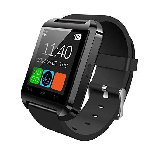 Wdckxy Hwj - Reloj de pulsera inteligente Bluetooth V3.0 + EDR (color: negro)