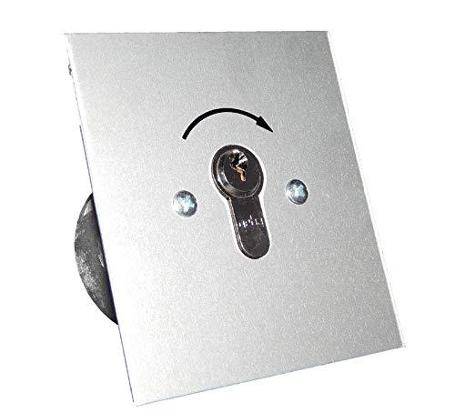 Schlüsselschalter GEBA unterputz