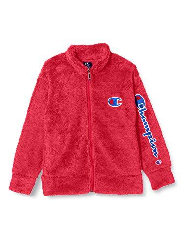 [チャンピオン] フリースジップジャケット BOYS SPORTS CX7547 ボーイズ レッド 140