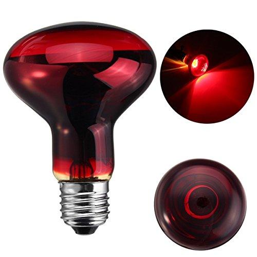 Masunn 25W 40W 50W 60W 75 W R80 rode infrarood zonnewarmte reptielamp licht AC220-240V