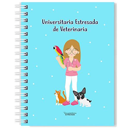 Libreta Veterinaria A5 - Universitaria Estresada