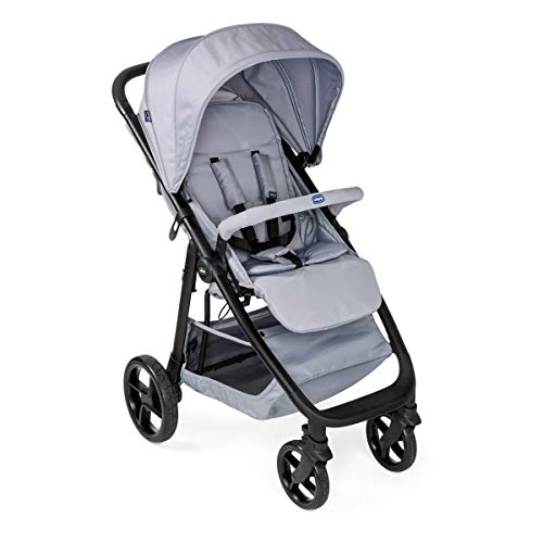 Chicco Multiride Off Road Kinderwagen von 0 Monaten bis 22 kg, Kompakter Kinderwagen, mit Pannensicheren Rädern, Schlafposition, Ein-Hand-Faltung, Sonnenverdeck und Regenschutz