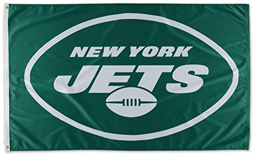 Wincraft New York Jets Vlag 3ft x 5ft NFL Amerikaans voetbal