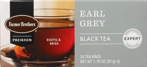 Farmer Brothers Earl Grey Black Tea- 25 bags