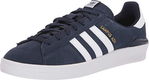adidas Skateboarding Campus ADV Collegiate Navy/Footwear White/Footwear White Men's 6.5, Women's 7.5 Medium