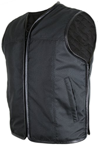 MDM Textil Bikerweste (Winddicht und Wasserabweisend) (3XL)