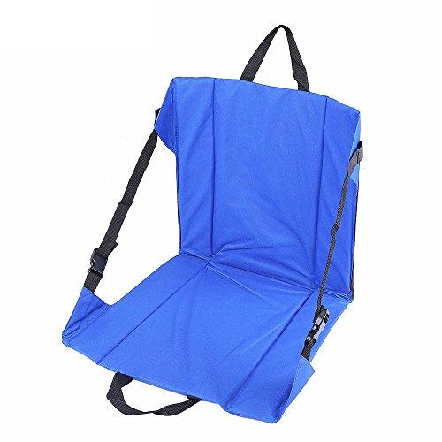 SUNRIS Cojín ligero plegable para silla de pesca al aire libre para jardín, pesca, camping, montañismo, senderismo, picnic