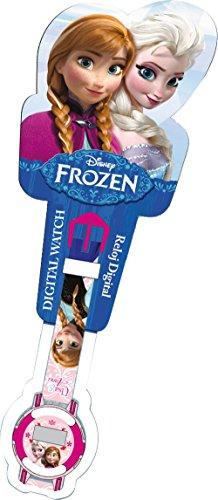 Frozen – Montre Bracelet numérique en Blister (Kids wd10580)