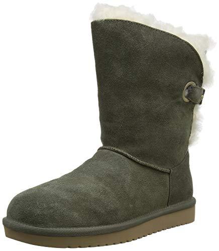 Koolaburra by UGG Women's Koola Wrap Short Classic Boot, Dusty Olive, 43 EU