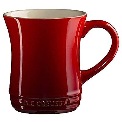 Le Creuset PG8006-0067 Tea Mug, Cerise, 14 ounce