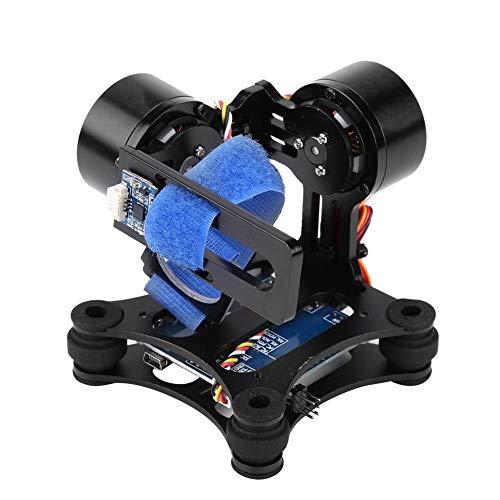 Drone Camera Gimbal, bürstenloses Metall-Gimbal-Board BGC 2.2 RC Drone Quadcopter-Teil Kompatibel mit GoPro 3/3+/4(Schwarz)