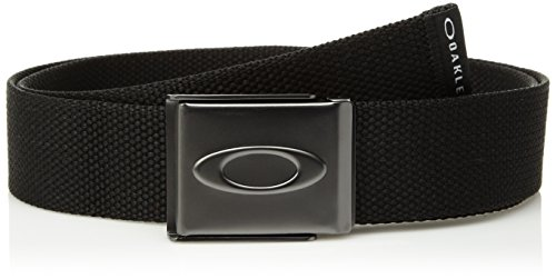 Oakley Men's Ellipse Web Belt, One Size, Blackout
