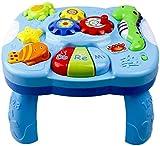 Family in Spieltisch Baby,Musikalische Lerntisch Baby Spielzeug - Abenteuer Spieltisch, Musik Aktivitätszentrum Spieltisch Spielzeug Für Früherziehung Über 18 Monate Baby Lernen