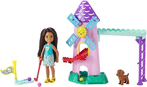 Mattel Barbie - Chelsea Puppe und Mini-Golf Spielset