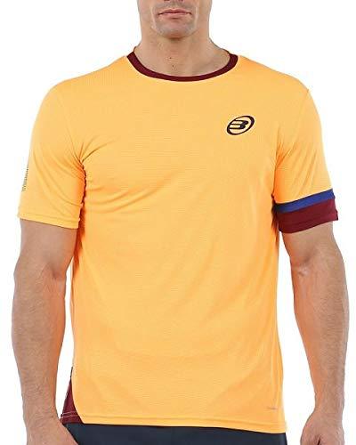 Bullpadel Camiseta Carpeter, Hombre, Mandarina Fluor, 2XL