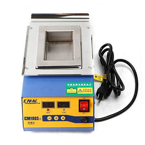 Great Deal! Solder Pot Cm100S, Lead-Free Solder Pot Tin Melting Furnace Digital Thermoregulation S...