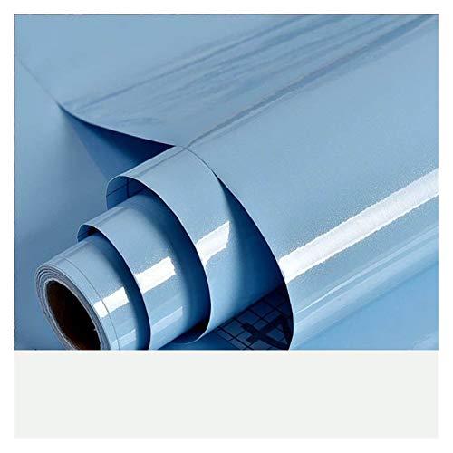 WHYBH HYCSP Dicke wasserdichte Kunstmarmor Muster Aufkleber Tapete Selbstklebende Tapete Renovierung von Möbeln (Color : Blue)
