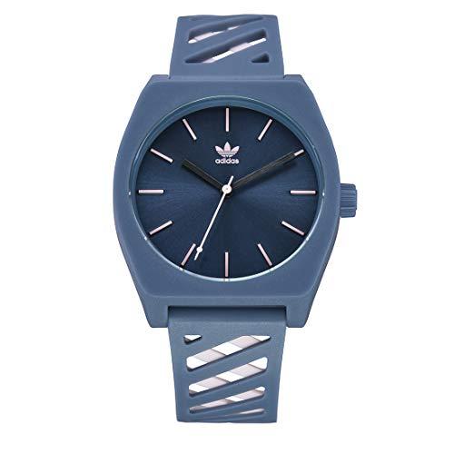 Adidas Unisex Analog Japanischer Quarz Uhr mit Silicone Armband Z25-3343-00