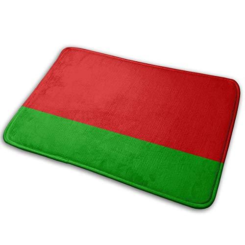 Preisvergleich Produktbild VBNHJ Belarus Flag Auto Auto rutschfeste Türmatte für Garage Patio stark frequentierte Bereiche Schuh Teppiche Teppich