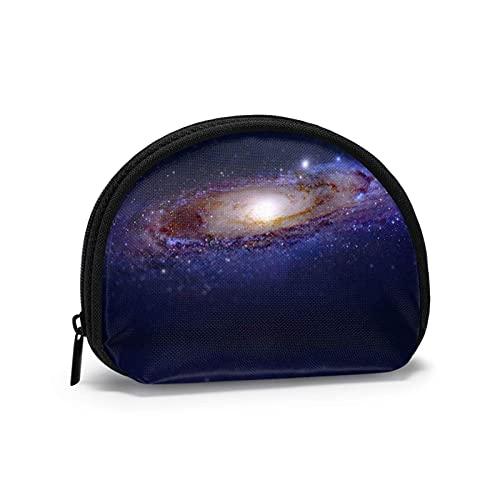 Starry Sky Vortex - Bolsas de almacenamiento de cosméticos portátiles para mujeres y niñas, monedero, monedero, monedero, monedero pequeño
