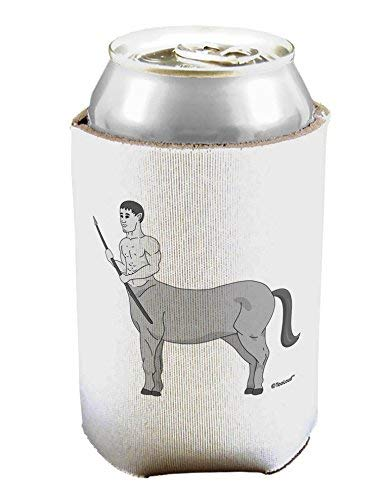Griekse Mythologie Centaur Ontwerp - Grayscale Bier Tin Kan Koeler Mouwhouder - 1 Stuk