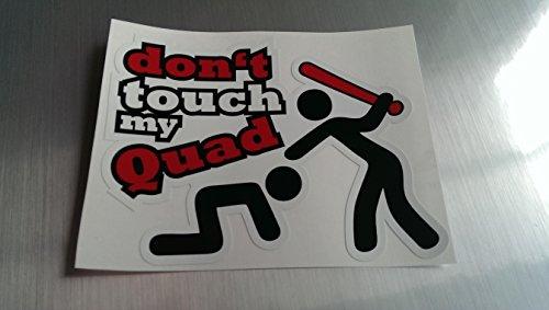 Dont touch my quad Shocker Hand Auto Aufkleber JDM Tuning OEM DUB Decal Stickerbomb Bombing fun w