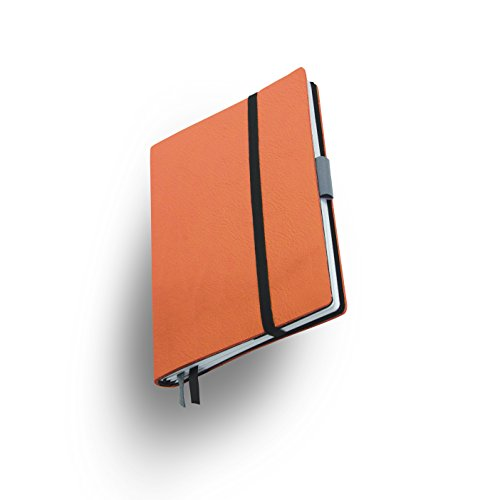 Whitebook SLIM S214-MX Modulair Notebook Veaux Prestige, Orange Hermes, 120 pag, FSC-papier