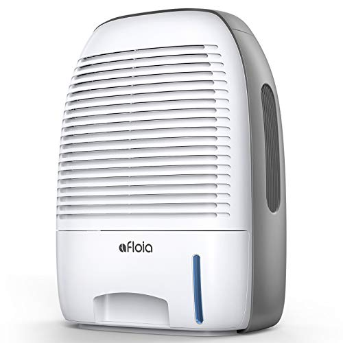 Afloia Dehumidifier for Home 52oz(1500ml) Capacity Ultra Quiet for 2200 Cubic Feet (250 sq ft) Portable Dehumidifiers for Bathroom, Bedroom, Dorm Room, Baby Room, and RV
