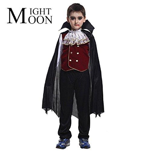 Inception Pro Infinite Talla M - 5 - 6 años - Disfraz - Disfraz - Carnaval - Halloween - Vampiro - Drácula - Crepúsculo - Color Negro - Niño