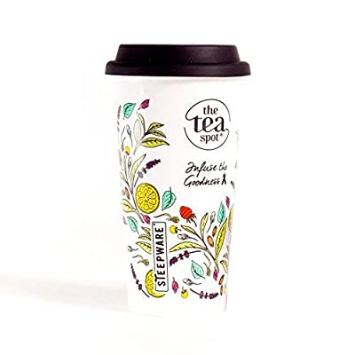 Double Wall Insulated Tea Cup With To Go Lid