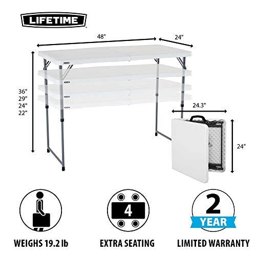 Lifetime 4Ft Folding Table