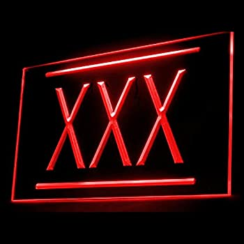 180019 XXX Adult Rated Movie HD DVD Sexual Japanese Asian Full LED Light Neon Sign